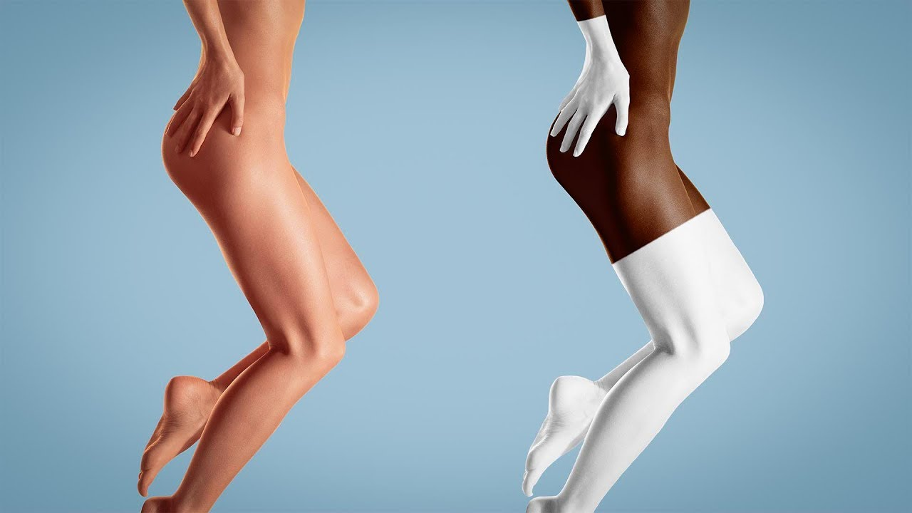 Milk And Chocolate Skin Color in Photoshop