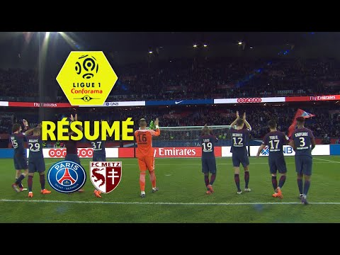 Paris Saint-Germain - FC Metz (5-0)  - Résumé - (PARIS - FCM) / 2017-18
