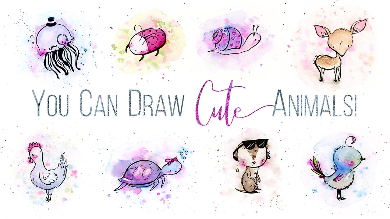 You Can Draw Cute Animals In 3 Simple Steps // Skillshare ...