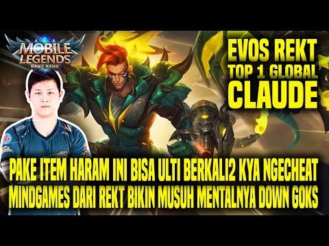 HAL YANG GW PELAJARI DARI TOP 1 GLOBAL CLAUDE REKT - MOBILE LEGENDS INDONESIA