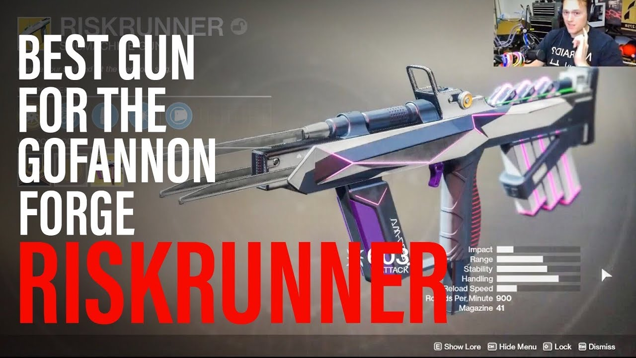 The Best Gun to Use in the Gofannon Forge - Riskrunner Exotic SMG