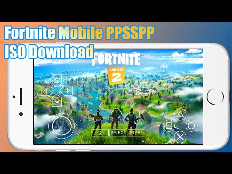 Fortnite Mobile PPSSPP ISO Download Para PSP Iso Highly Compressed