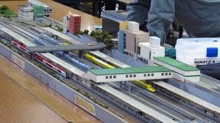 2017 11 名古屋地下鉄・開業60周年イベント ジオラマ・①