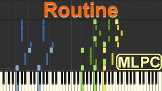 Video Alan Walker x David Whistle - Routine I Piano Tutorial by MLPC download MP3, 3GP, MP4, WEBM, AVI, FLV Agustus 2018