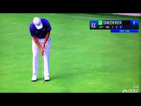 Brandt Snedeker - Pop Putting Stroke (Perfect Angle)