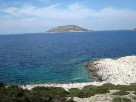 A Trip Down the Coast of Attica, Greece - Cape Sounion & Poseidon Temple