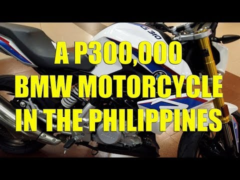 A P300,000 BMW Motorcycle In The Philippines.