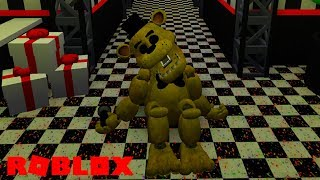 Becoming Golden Freddy in Roblox FNAF 6 Lefty's Pizzeria Roleplay