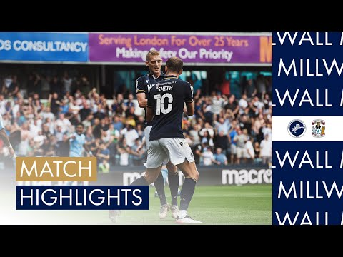Millwall Coventry Goals And Highlights