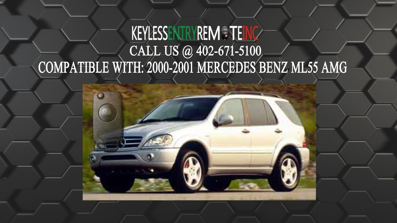 How to replace mercedes benz ml55 amg key fob battery 2000 for How to change mercedes benz key battery