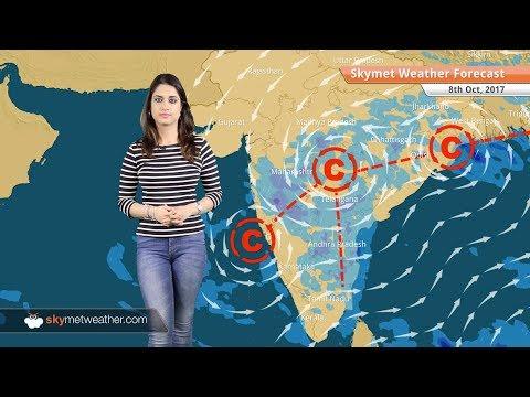 Weather Forecast for Oct 8: Rain in Mumbai, Bengaluru, Kolkata; Delhi to remain dry
