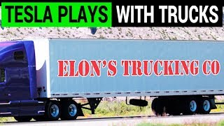 Tesla Buys a Truck Fleet to Expedite Model 3 Deliveries