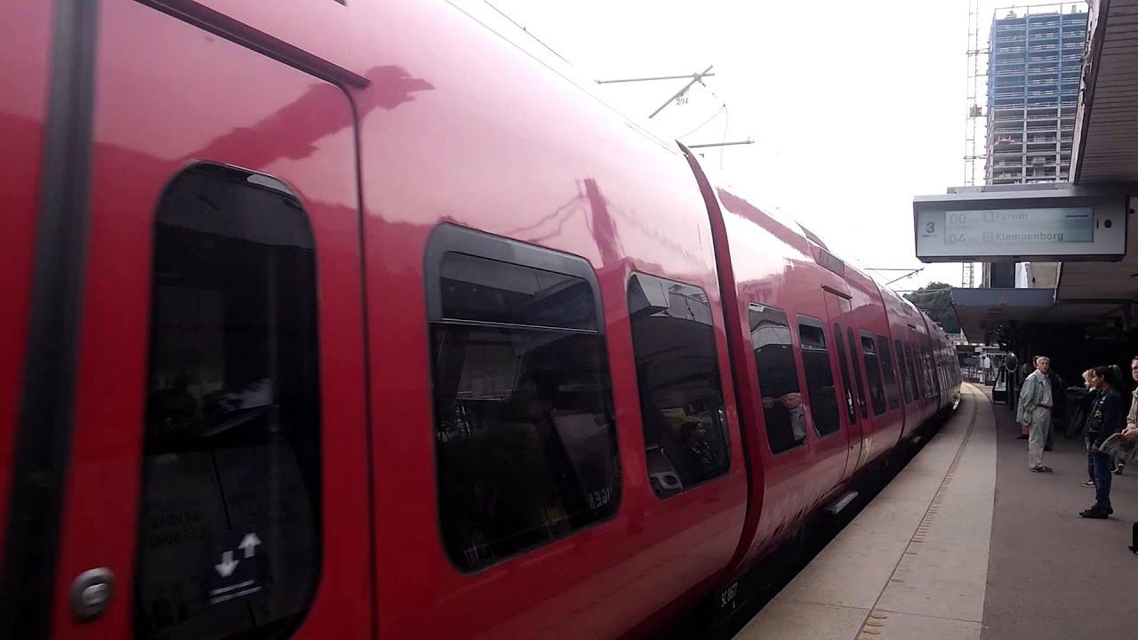 DSB S-tog Linje B / S-Bahn Line B at Enghave Station, Copenhagen Denmark - YouTube