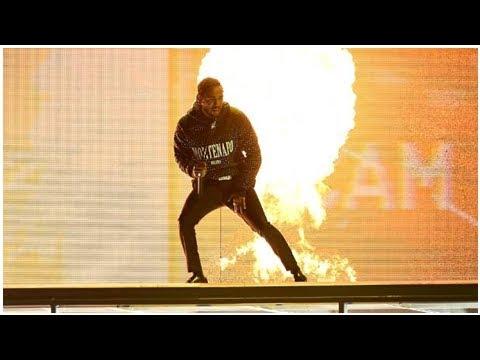 Kendrick Lamar divides viewers with 'smashing' Brit Awards performance