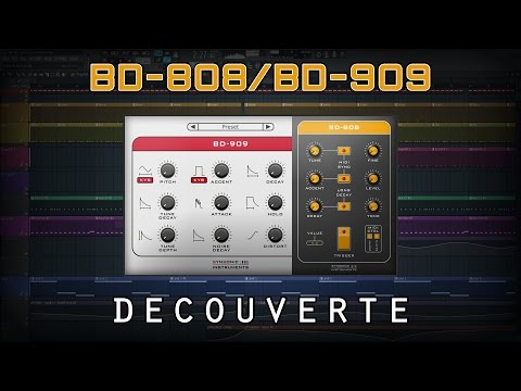 [Découverte] BD-808/BD-909 (VST/AU) | Freeware/émulation : 2 Synth De KICK Par Synsonic Instruments