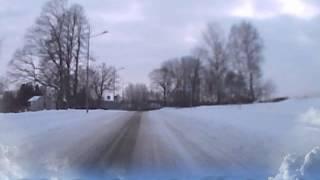 GOŁDAP. Ulicami miasta (12-02-2013)
