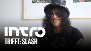 Slash im Interview - Intro trifft
