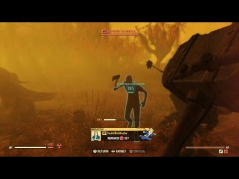 Fallout 76 - Killing the Scorchbeast Queen feat randoms