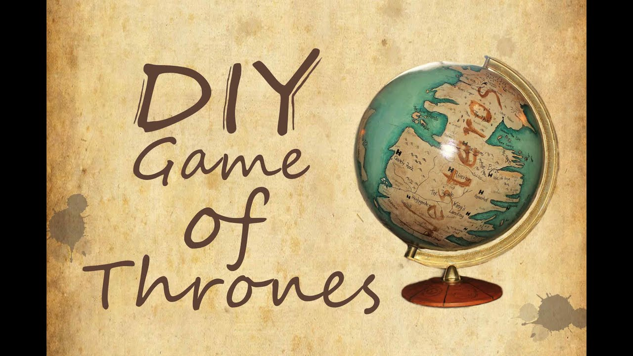 Game of thrones globe diy youtube game of thrones globe diy gumiabroncs Images