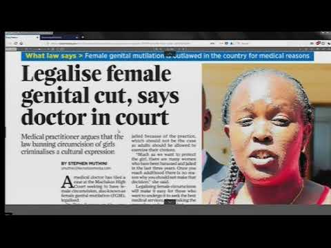 Power Breakfast News Review :Legalise female genital cut ,say Doctor in court