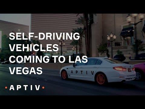 Self-driving vehicles coming to Las Vegas (2018)