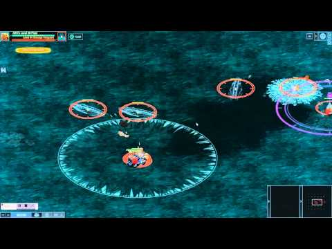 Battle Pirates: Trident Missile in action