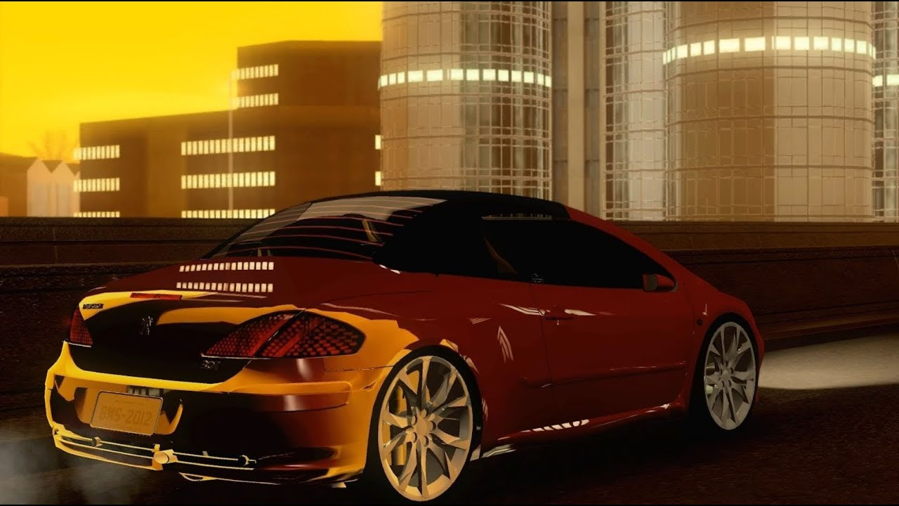 gta v to sa peugeot 307cc bms edition folding roof teto. Black Bedroom Furniture Sets. Home Design Ideas