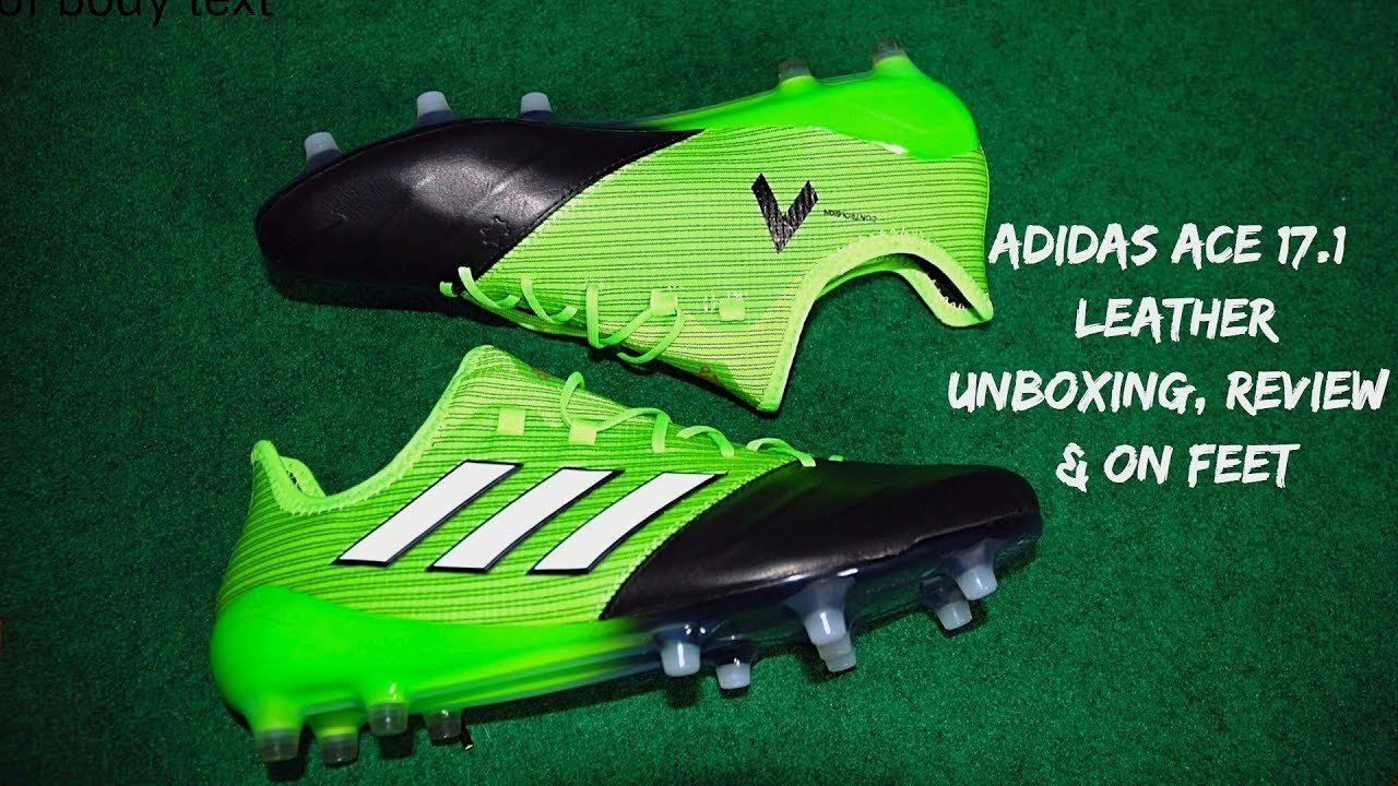 56385f06d024 Adidas Ace 17.1 Leather (Turbocharge Pack) - Unboxing
