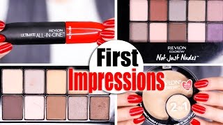 NEW REVLON MAKEUP | First Impressions