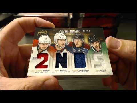 2013-14 Panini Prime Hockey Case Break #1
