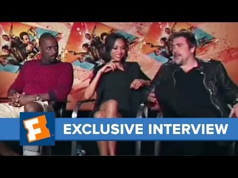 """The Losers"" Cast Video Interviews! | Celebrity Interviews | FandangoMovies"