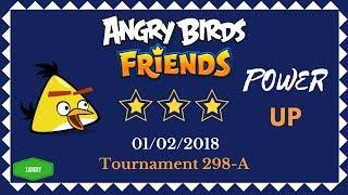 Angry Birds Friends Tournament 298-A All Levels POWER UP Walkthrough