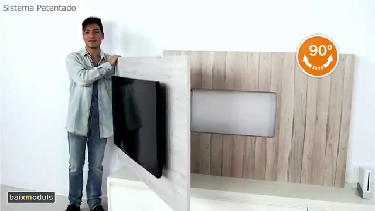 Mueble television giratorio youtube for Mueble television giratorio 08