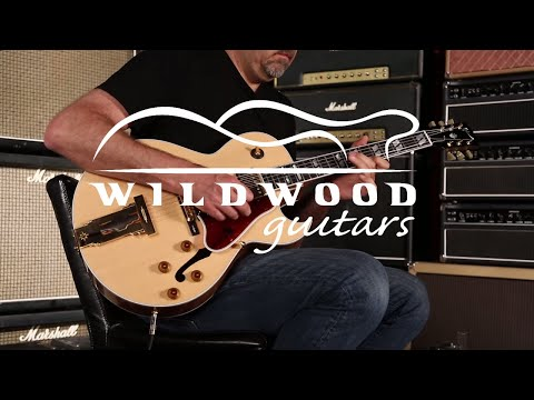 Gibson Custom Shop L-4 CES Mahogany  •  SN: 10135002