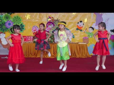 Rock Vầng Trăng - Lá 1 - Trung Thu 2016 - Mầm Non Hoa Sen Buôn Ma Thuột
