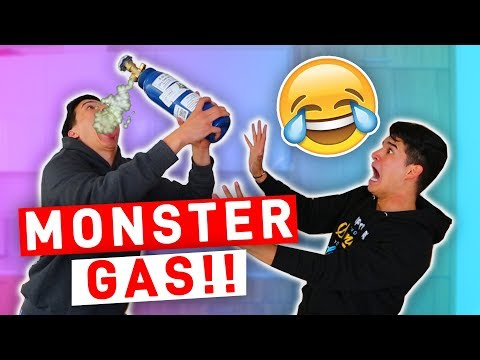 MONSTER GAS ACCENT CHALLENGE!