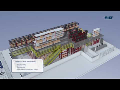 Animated Introduction to BILT Industries and their Industrial Grade Shelving