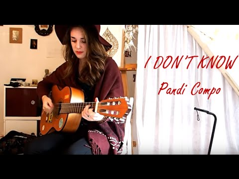 I DON'T KNOW - Jeanne Pandi compo