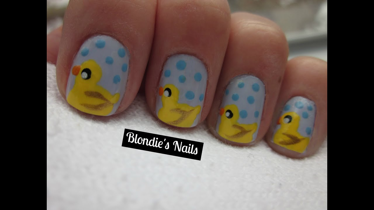 Rubber Ducky Nails Youtube