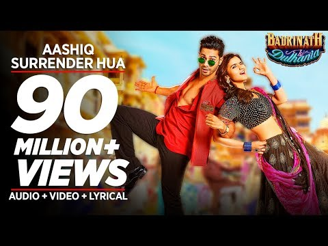 Aashiq Surrender Hua Video Song  | Varun, Alia | Amaal Mallik, Shreya Ghoshal |Badrinath Ki Dulhania
