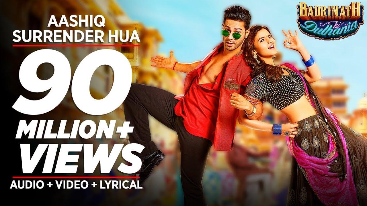 Aashiq Surrender Hua Video Song | Varun, Alia | Amaal Mallik ...