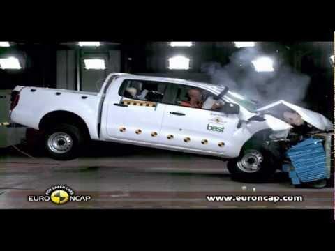 all new ford ranger 2012 crash test youtube. Black Bedroom Furniture Sets. Home Design Ideas