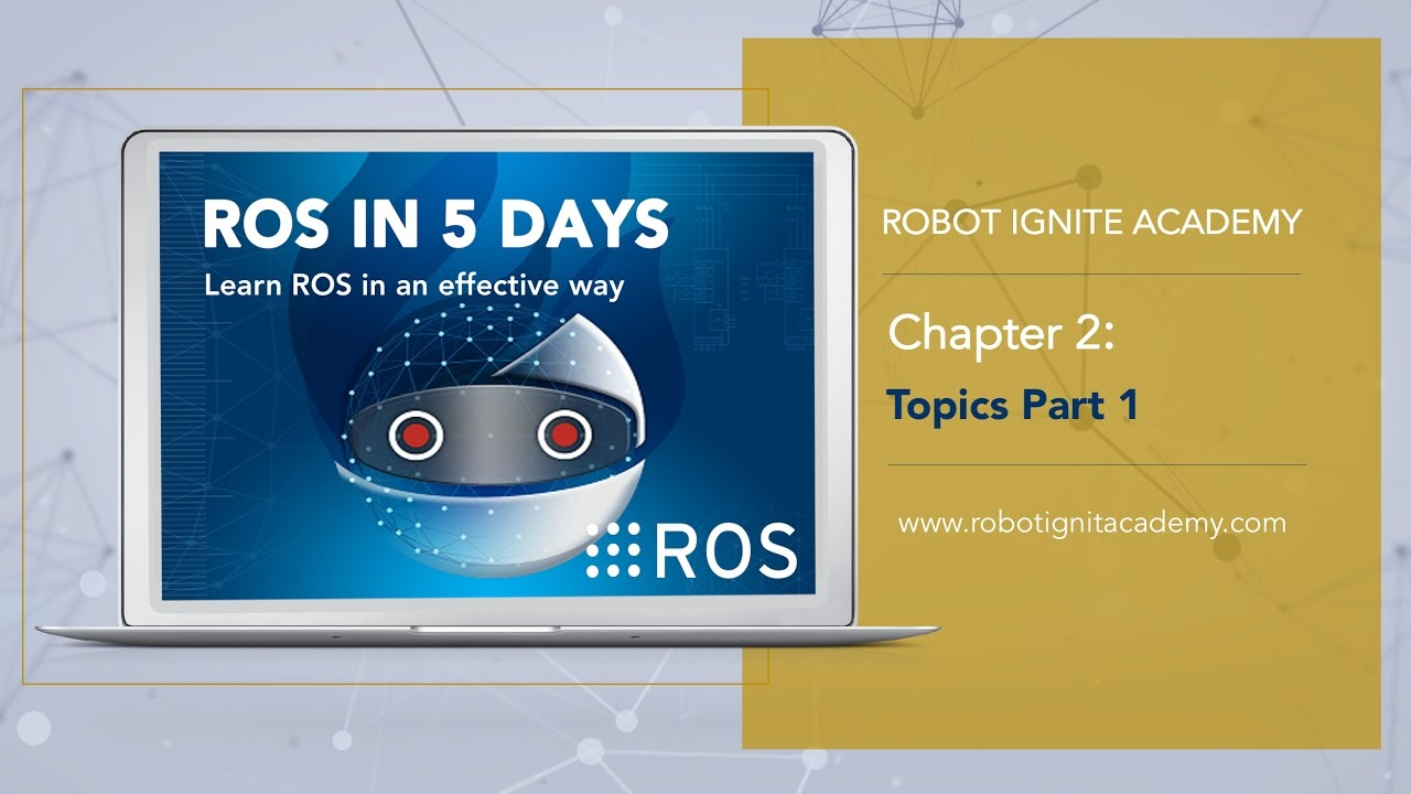 ROS Tutorial #Topics 1: Publishers, Subscribers, and programming Turtlebot  simulator