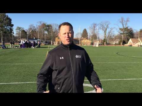Jamie McNealey, Severn School Varsity Lacrosse Coach - Mar 16, 2017