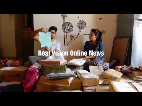 Zain Imam birthday with Aditi Rathore  Adiza Avneil  gifts segement 2 part 1 with Real Vision Online thumbnail