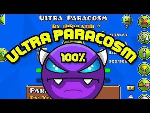 ULTRA PARACOSM 100% (EASY DEMON)  Geometry Dash