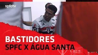 BASTIDORES: SÃO PAULO 2x0 ÁGUA SANTA   SPFCTV