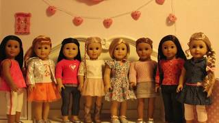 Valentines Day 2018 Fashion show - American Girl