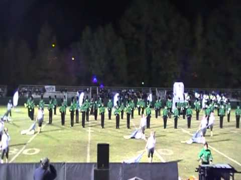Green Hope High School Marching Band at Cary Band Day 2012