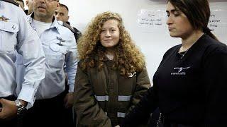 Una adolescente palestina condenada a prisión por golpear a un soldado
